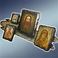 Старинна ікона, ікона старинна, ікона під старину, ікони під старину, старинні ікони, ікони старинні, підставка під ікону