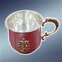 Чашка срібна, чашка глиняна, чашка з обраом, чашки срібні, чашки керамічні, чашки з образами, чашки з іконами