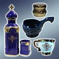 Кераміка, чашка, набір для святої води, ковшик, ваза, сосуд для святої води, ковшики, вази, сосуди для святої води
