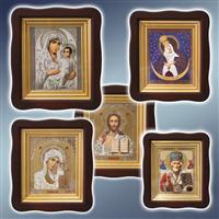 Ікона в кіоті, ікона в рамі, ікони в кіотах, ікони в рамах, ікони іменні в рамах, ікони вінчальні в рамах