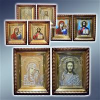 Ікона в кіоті, ікони в кіотах, ікони іменні в кіотах, ікони кіотні, ікони вінчальні в кіотах
