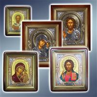 Ікона в кіоті Софріно, ікони в кіотах Софріно, ікони Софріно іменні в кіотах, ікони кіотні Софріно, ікони вінчальні в кіотах Софріно