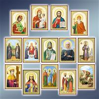Ікони поліграфічні 58 х 84 мм
