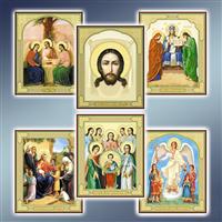 Ікони поліграфічні 98 х 120 мм