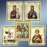 Ікони поліграфічні 172 х 208 мм