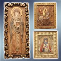 Ікони різбяні об