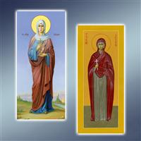 Мірна ікона, мірні ікони
