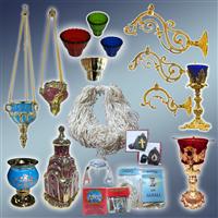 Лампада, лампада настольна, лампада підвісна, кронштейн для лампади, фітіль, поплавок для лампади, ладаниця