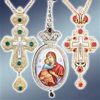 Хрест наперсний, хрест ієрейський, хрест протоієрейський, хрест виносний, хрест запрестольний, хрест з прикрасами