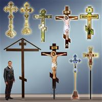 Хрести храмові, виносні, настінні, настольні